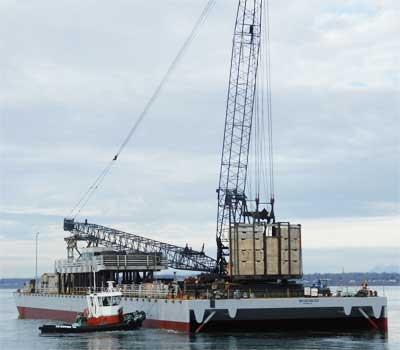 Brightwater Crane Barge